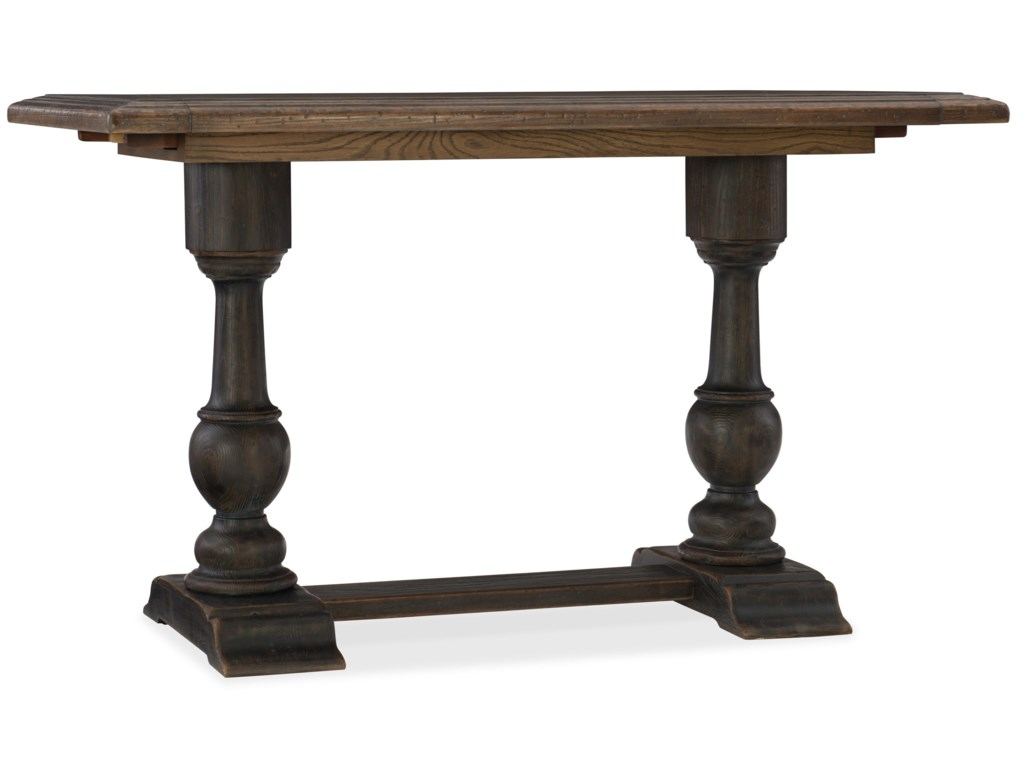 Hooker Furniture Hill CountryBalcones Friendship Table with Leaves