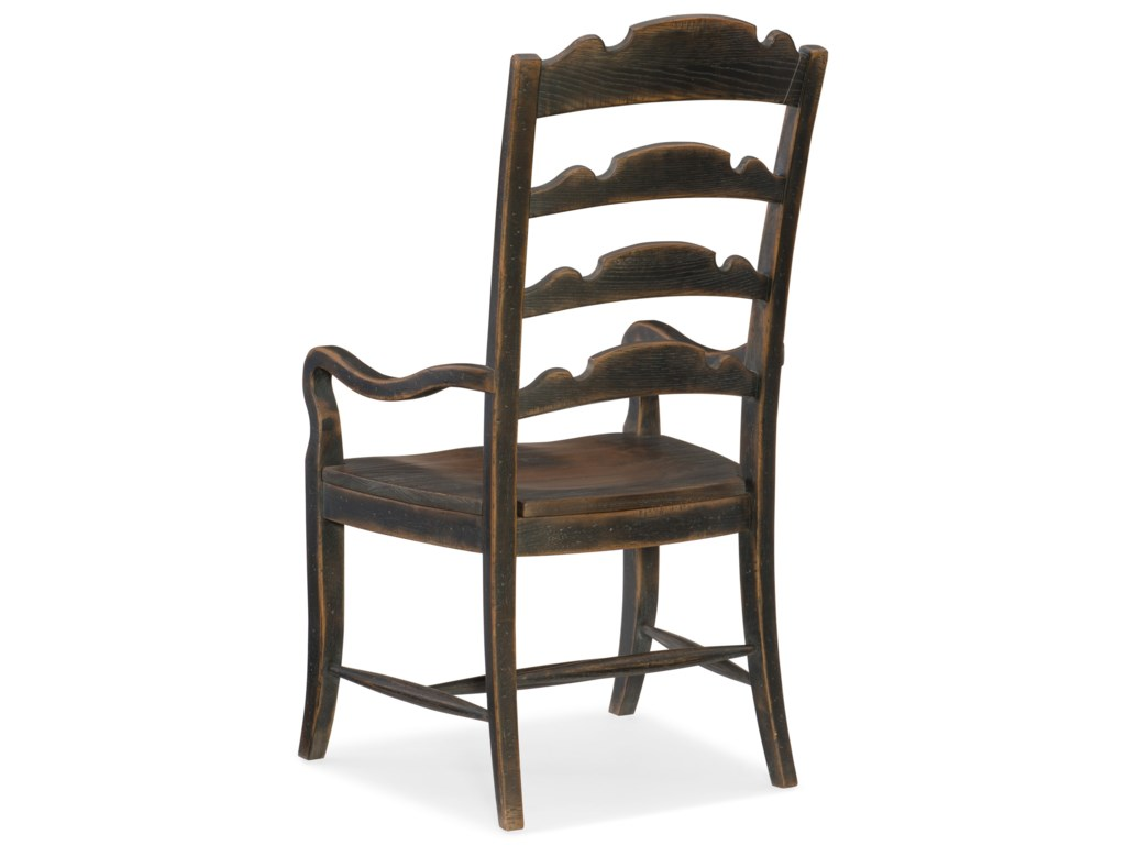 Hooker Furniture Hill CountryTwin Sisters Ladderback Arm Chair