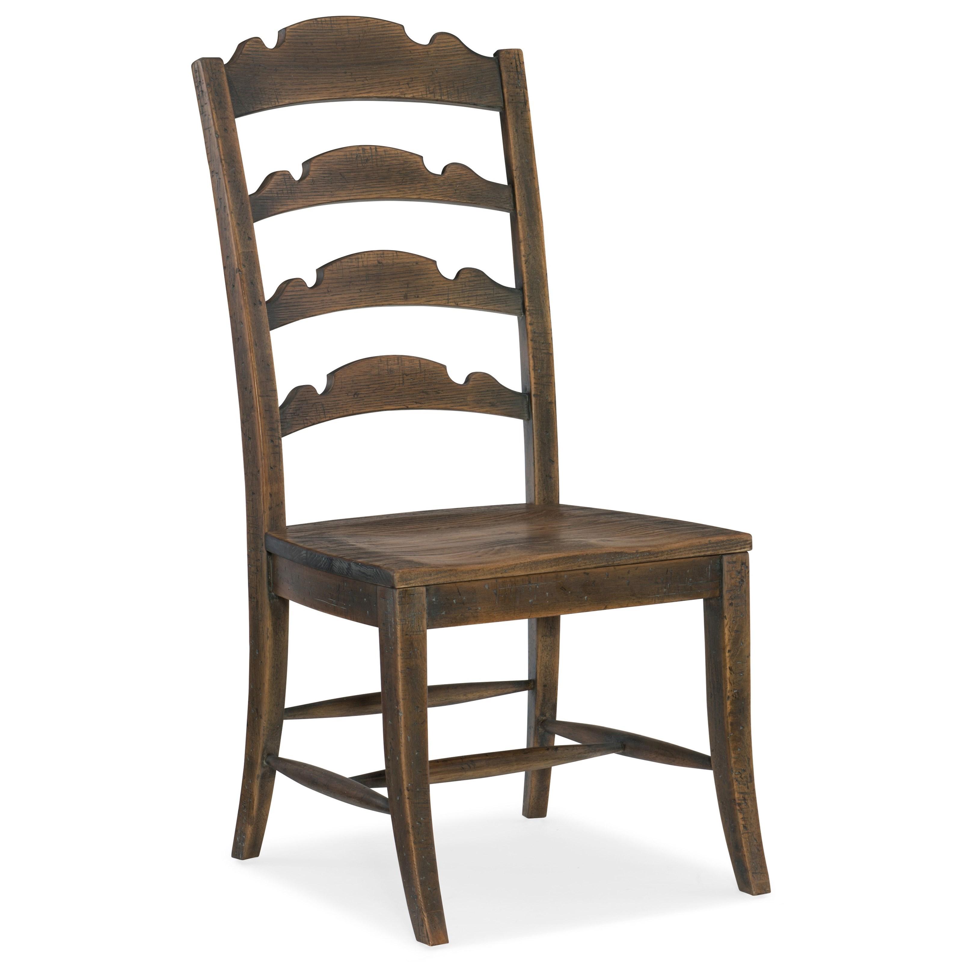 Twin Sisters Ladderback Side Chair