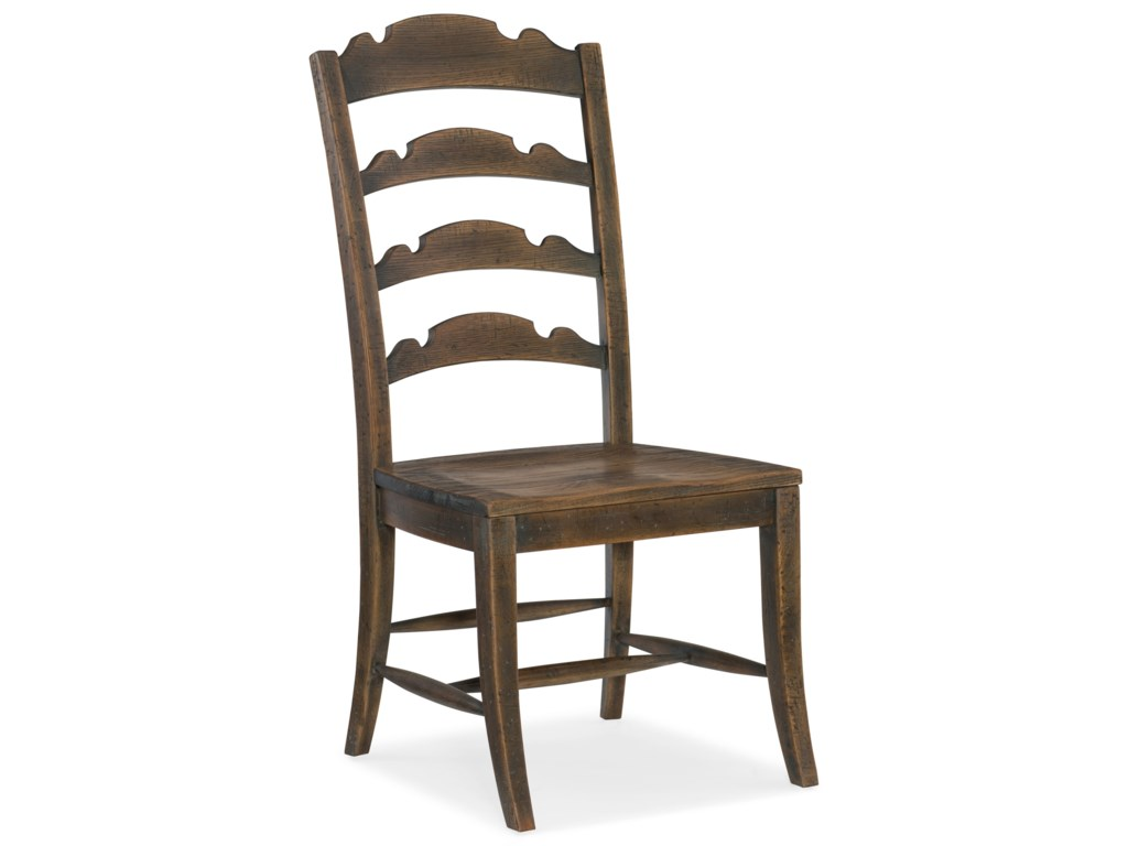 Hooker Furniture Hill CountryTwin Sisters Ladderback Side Chair