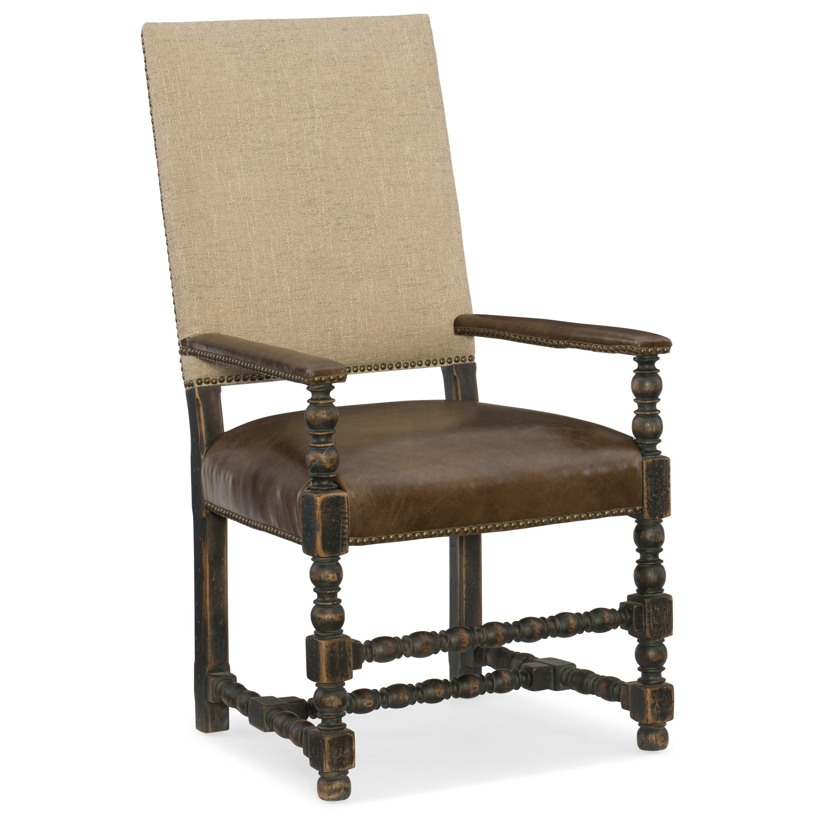 Hooker Furniture Hill CountryComfort Upholstered Arm Chair ...