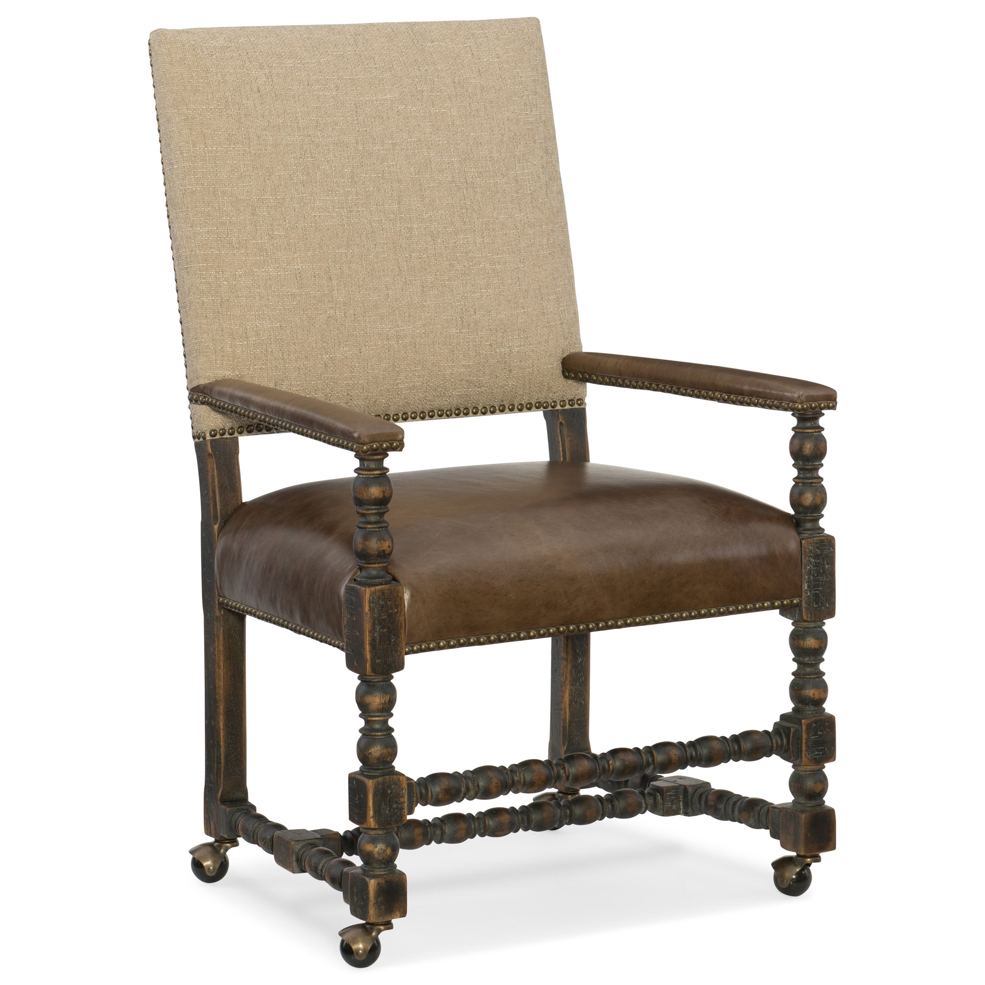 Hooker Furniture Hill CountryComfort Castered Game Chair ...