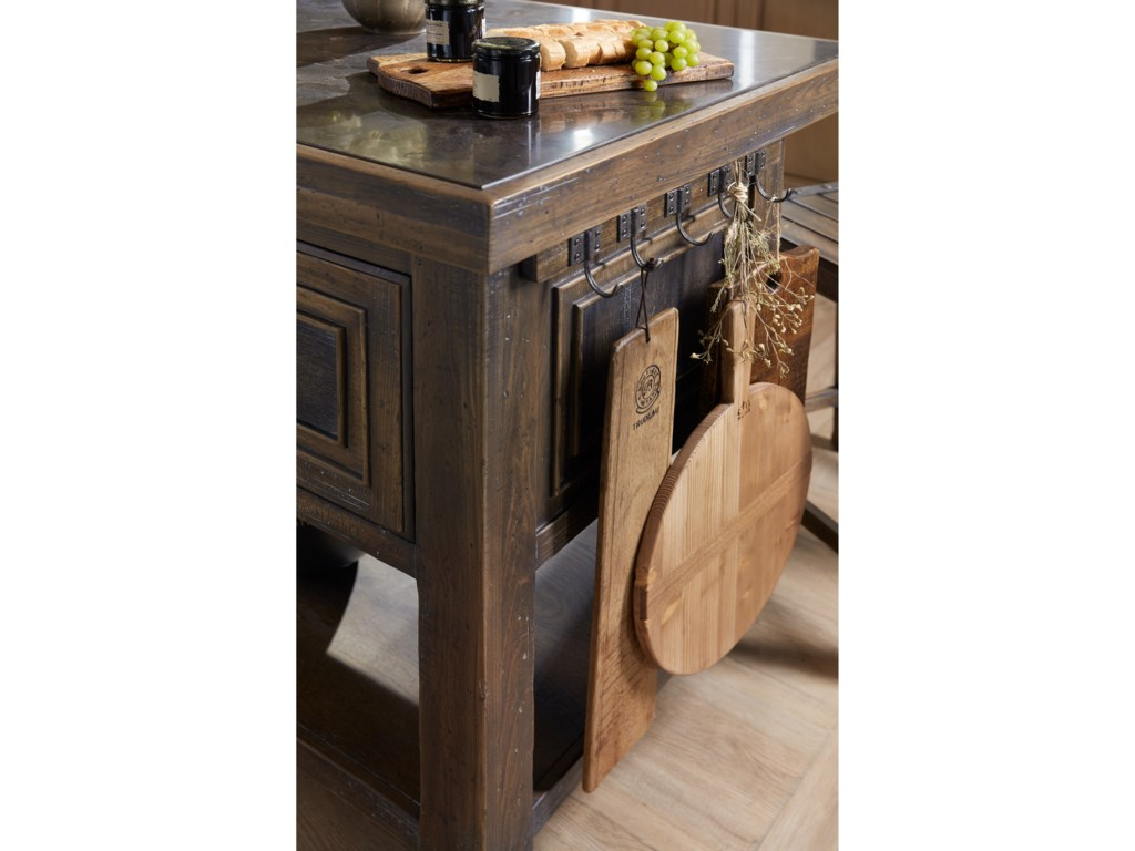 Hooker Furniture Hill CountryDripping Springs Island