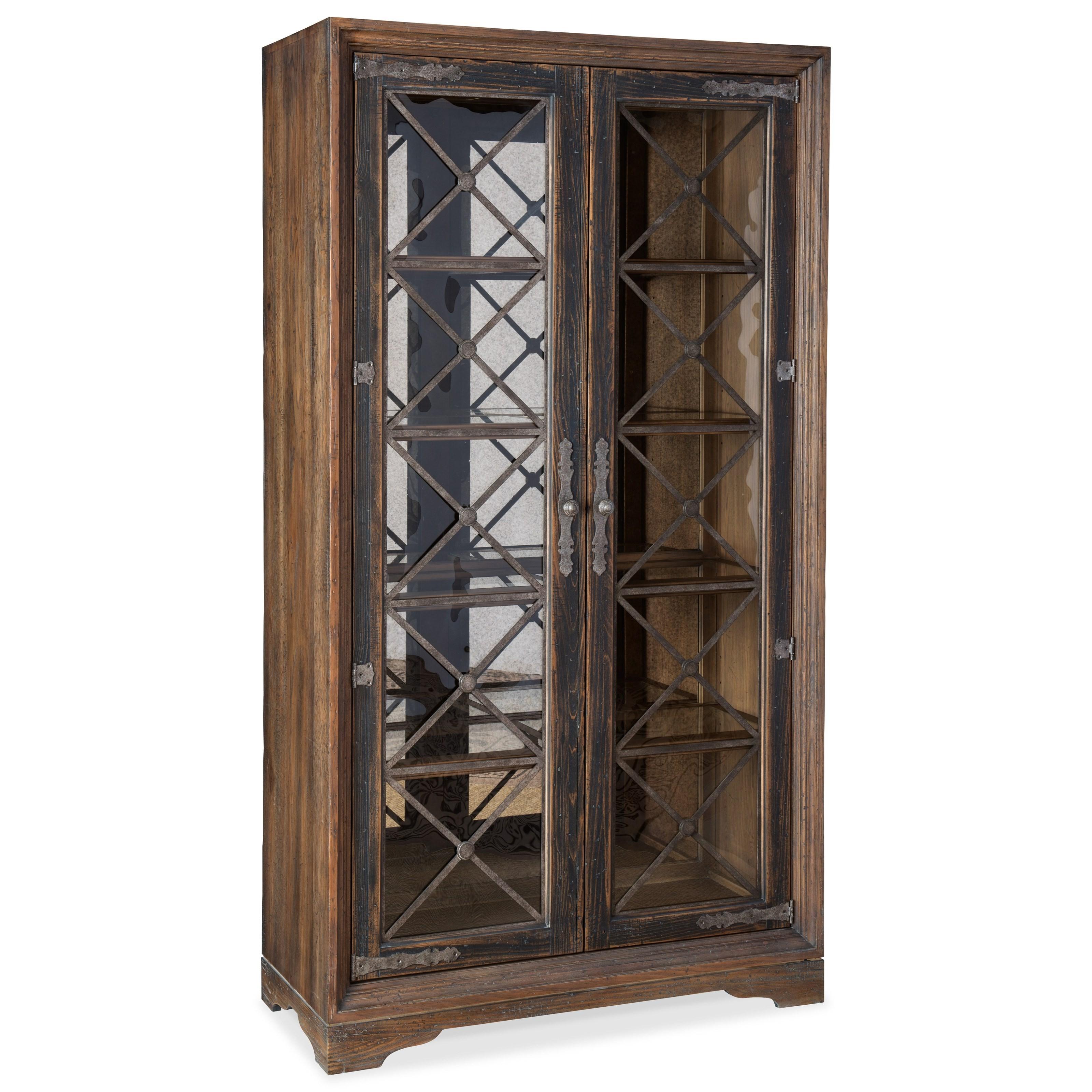 Hooker Furniture Hill CountrySattler Display Cabinet ...