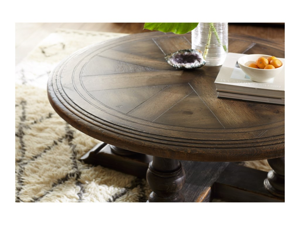 Hooker Furniture Hill CountryMedina Round Cocktail Table
