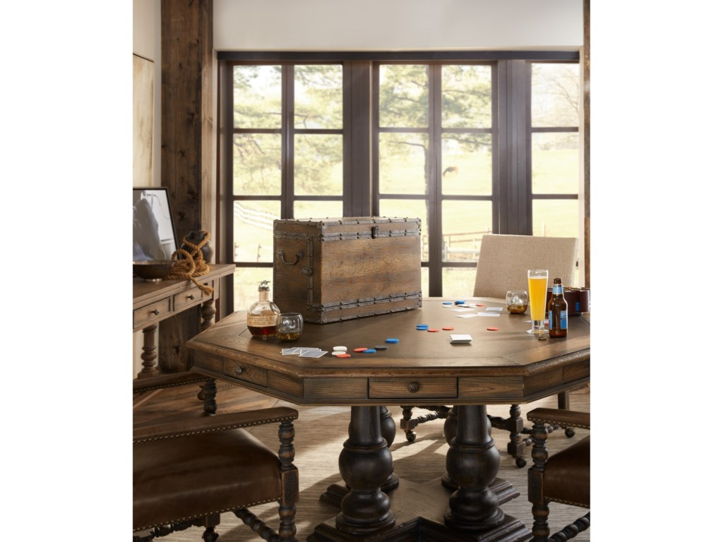 Hooker Furniture Hill CountryCastle Hills 60in Game Table