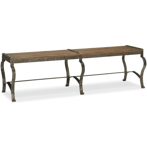 Hooker Furniture Hill Country Ozark Bed Bench