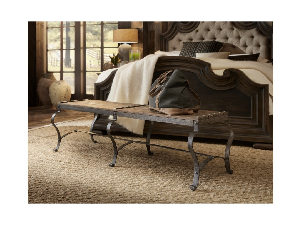 Hooker Furniture Hill CountryOzark Bed Bench