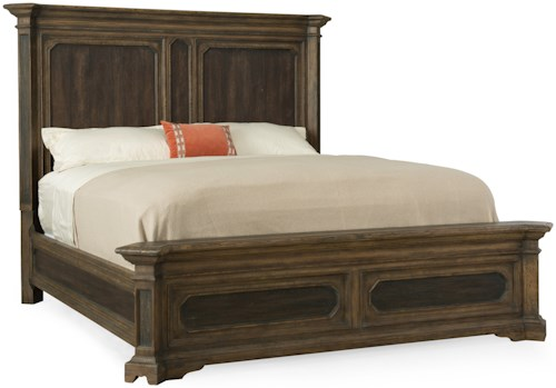 Hooker Furniture Hill Country Woodcreek Queen Mansion Bed