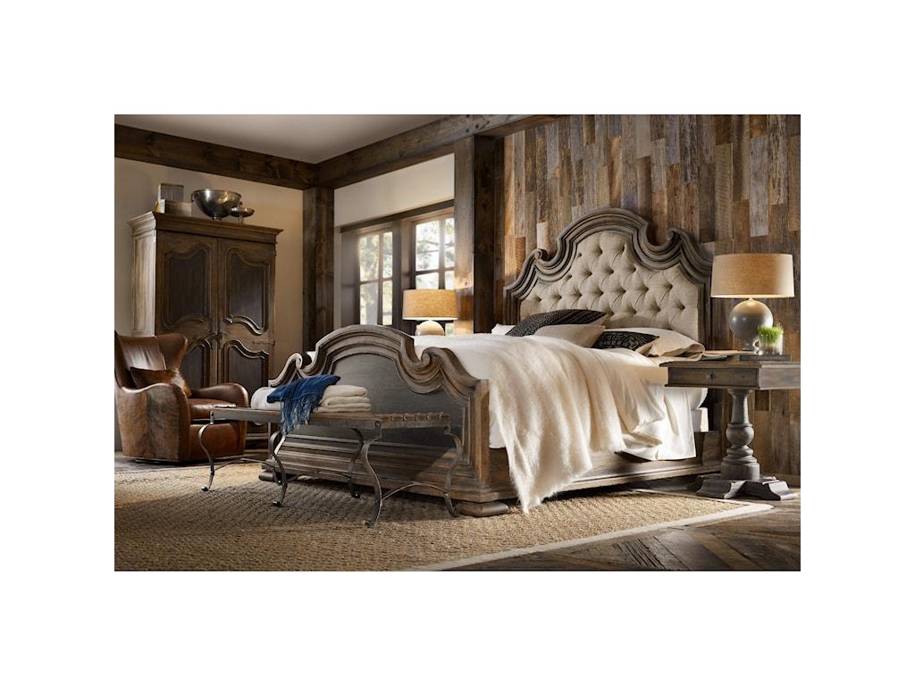 Hooker Furniture Hill CountryFair Oaks California King Uph Bed