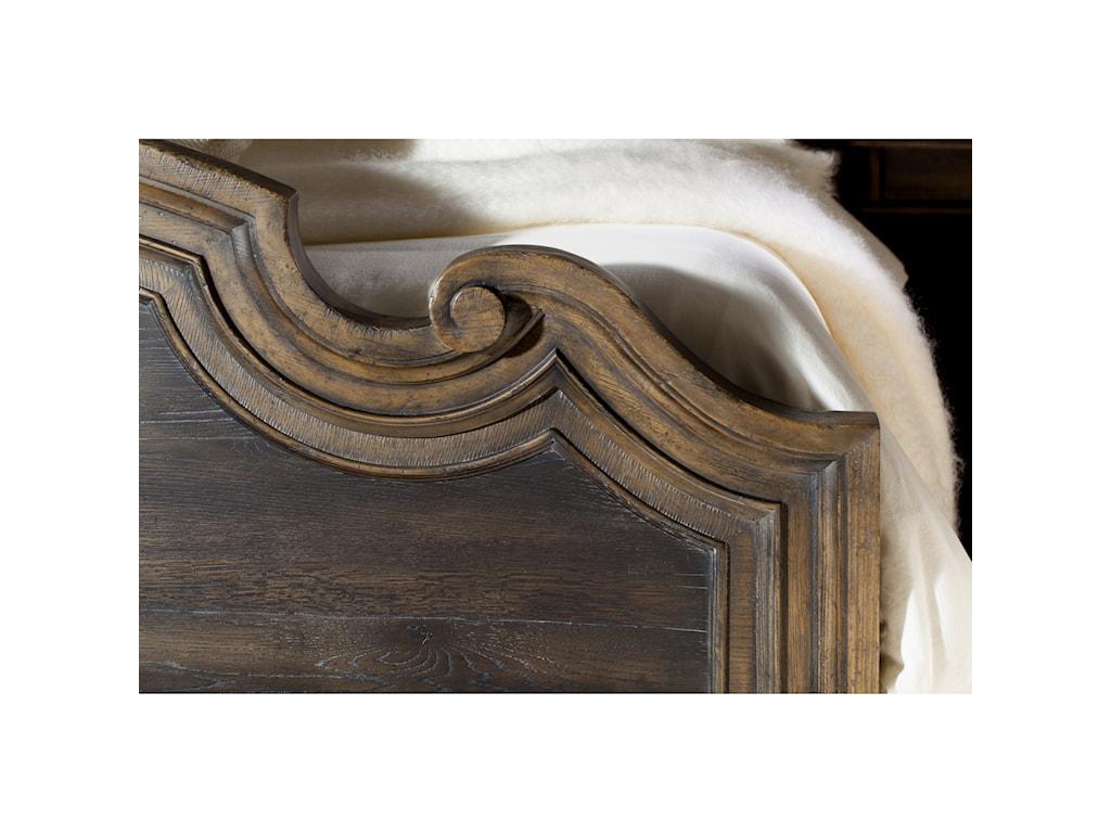 Hooker Furniture Hill CountryFair Oaks King Upholstered Bed
