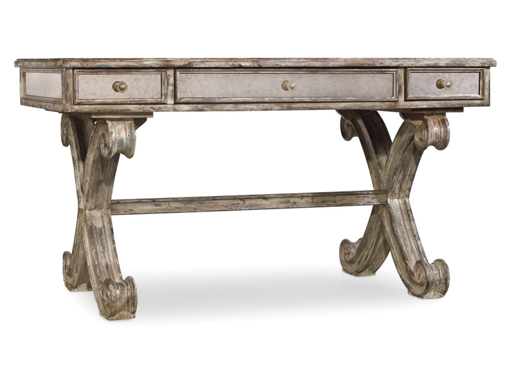 Hooker Furniture Home OfficeMirrored Writing Desk