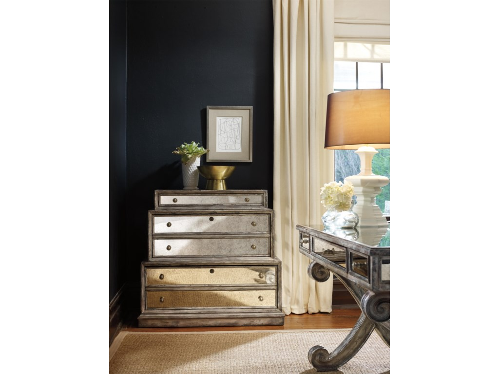 Hooker Furniture Home OfficeMirrored Lateral File