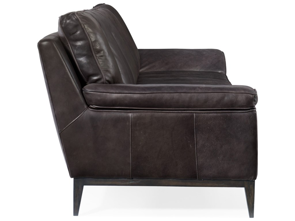 Hooker Furniture KandorLeather Stationary Sofa