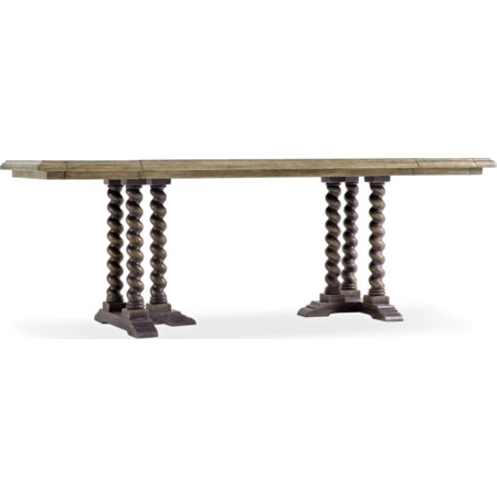 "60"" Friendship Table w/ Leaves"