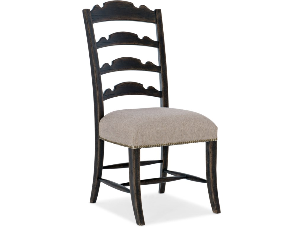 Hooker Furniture La GrangeTwin Sisters Ladderback Side Chair