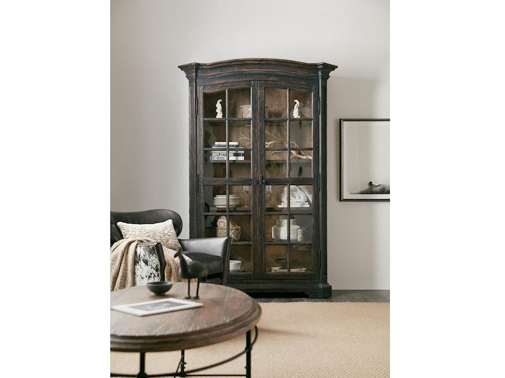 Hooker Furniture La GrangeMullins Prairie Display Cabinet