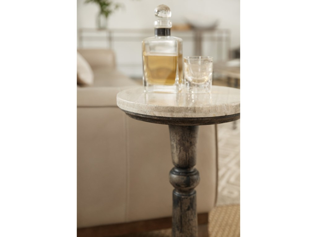 Hooker Furniture La GrangeRabbs Prairie Martini Table