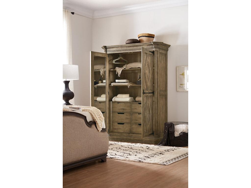 Hooker Furniture La GrangeMt. Maria Wardrobe