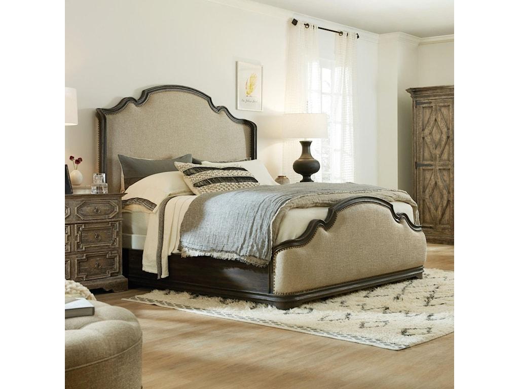 Hooker Furniture La GrangeFayette Queen Upholstered Bed