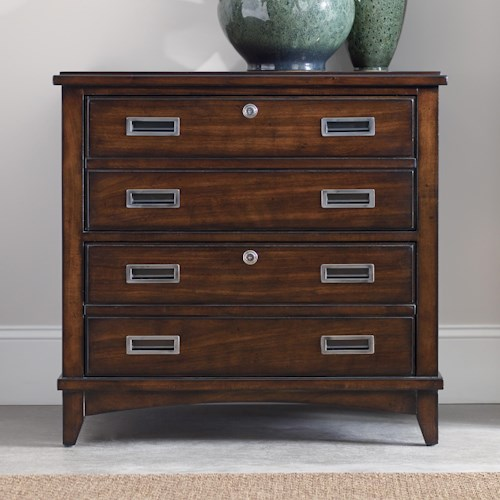 Hooker Furniture Latitude Walnut New-Vintage Lateral File