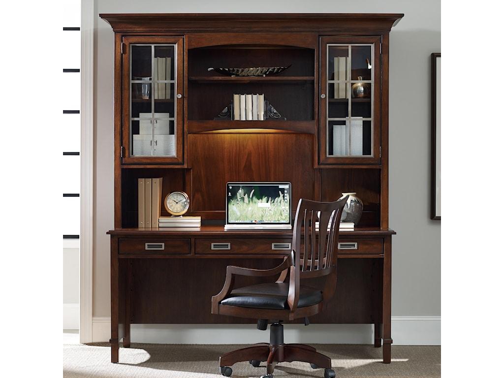 Hooker Furniture LatitudeDesk and Hutch Set