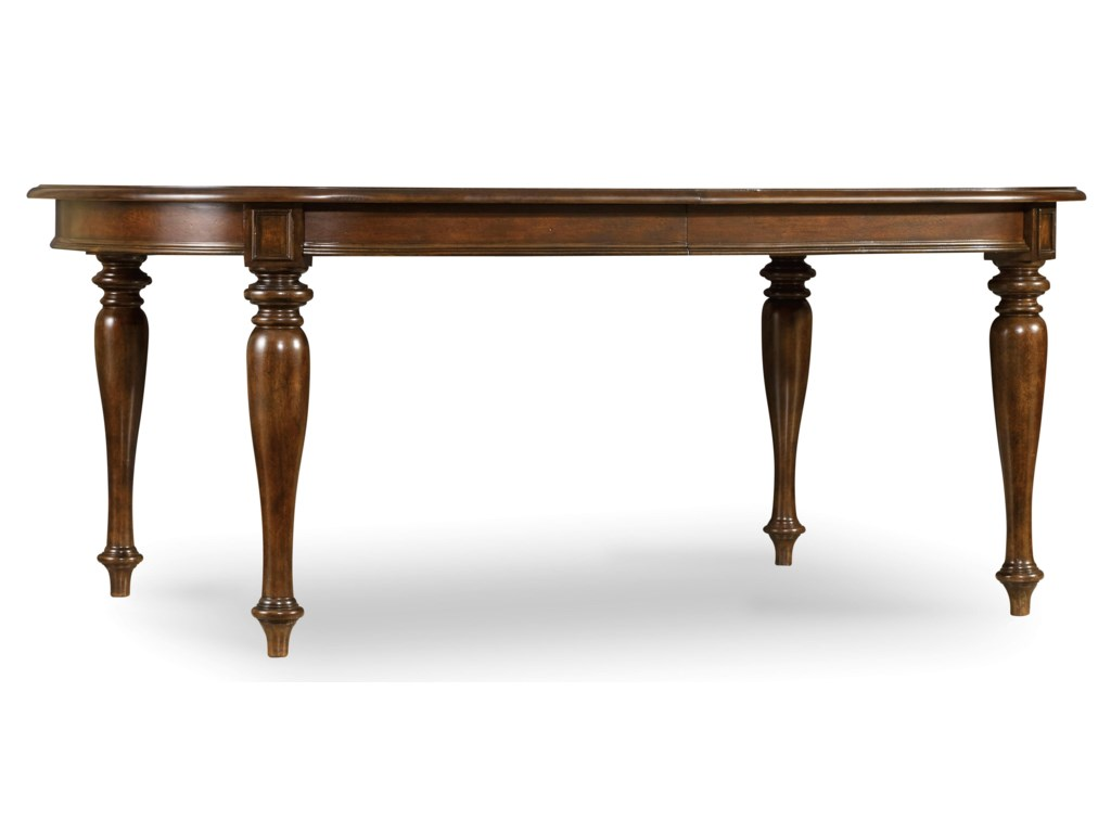 Hooker Furniture LeesburgLeg Table with One 18'' Leaf