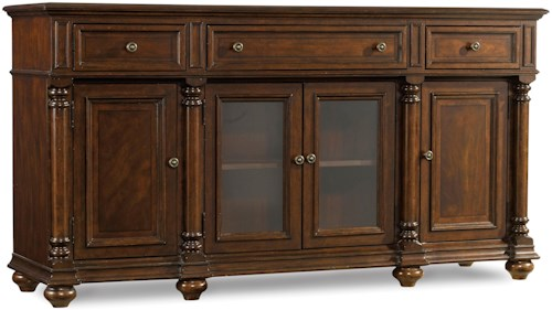 Hooker Furniture Leesburg Buffet with Silverware Tray Liner
