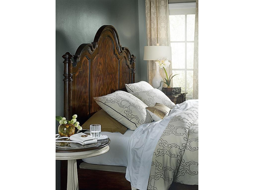 Hooker Furniture LeesburgQueen Size Poster Bed