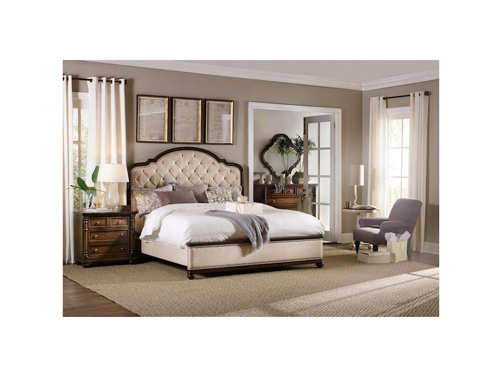 Hooker Furniture LeesburgKing Size Upholstered Bed