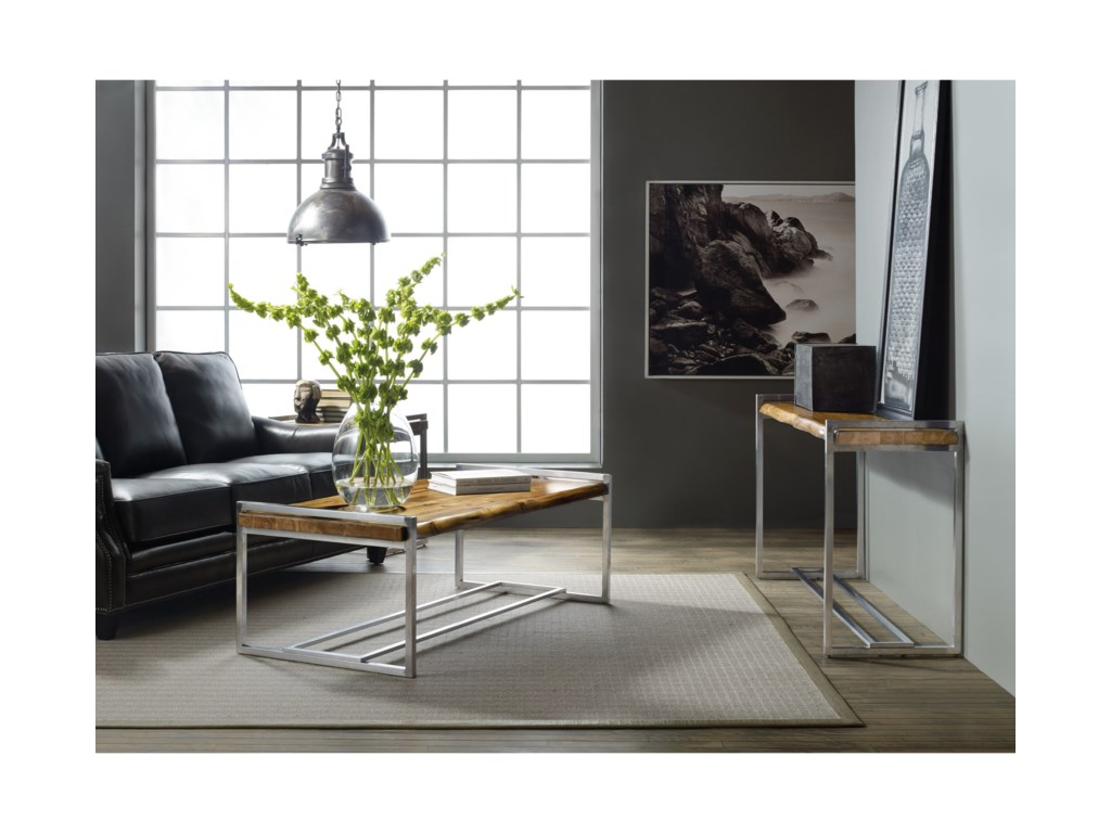 Hooker Furniture Live EdgeConsole Table