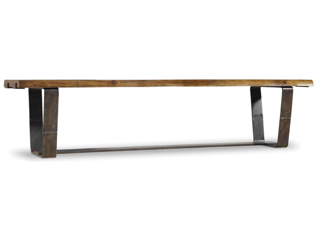 Furniture Live Edge Rustic Bench With Seat