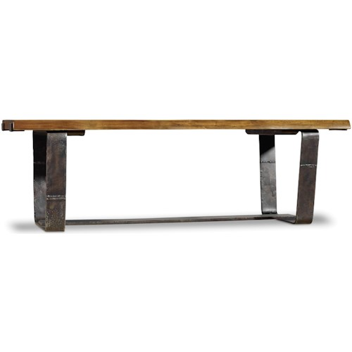 Hooker Furniture Live Edge Rustic Cocktail Table