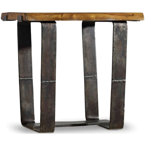 Hooker Furniture Live Edge Rustic End Table with Live Edge