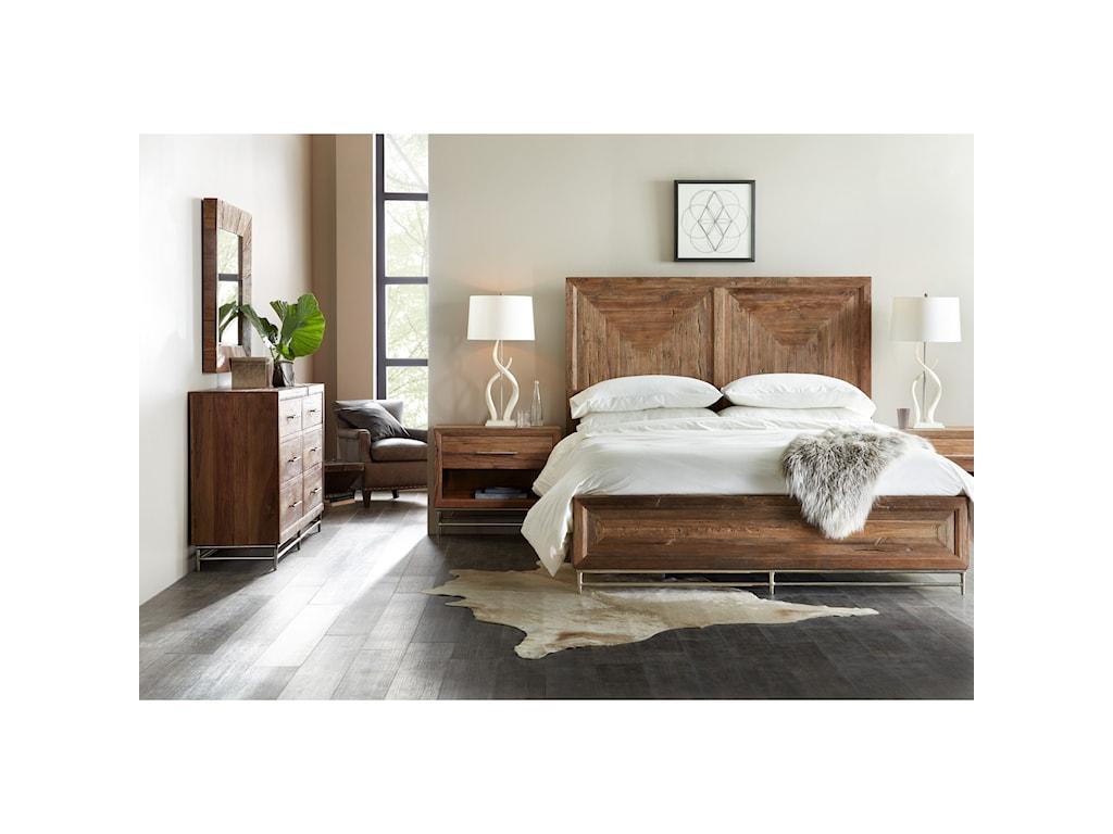 Hooker Furniture L'UsineCalifornia King Panel Bed