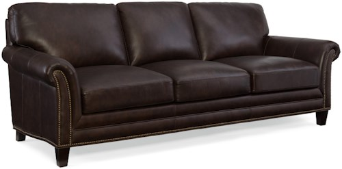 Hooker Furniture Marriott Stationary Sofa with Nailhead Trim