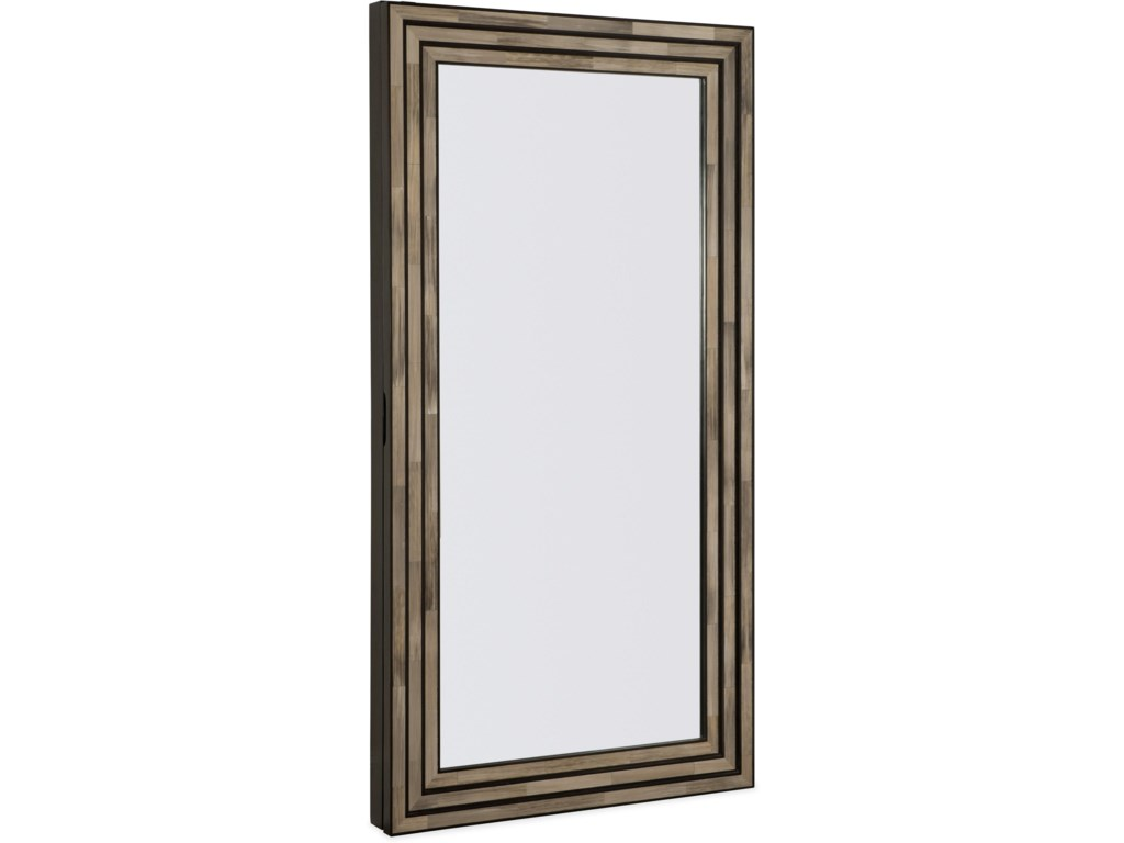 Hooker Furniture MelangeVenice Floor Mirror w/Jewelry Storage