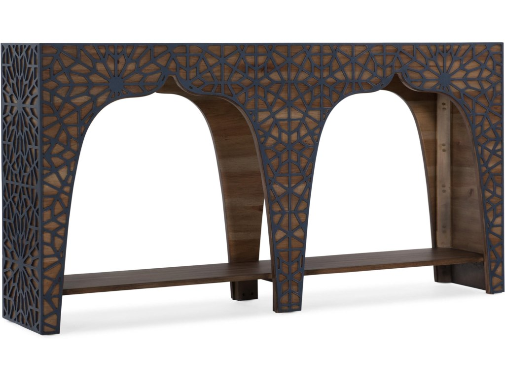 Melange Transitional Hall Console Table by Hooker Furniture at Howell  Furniture