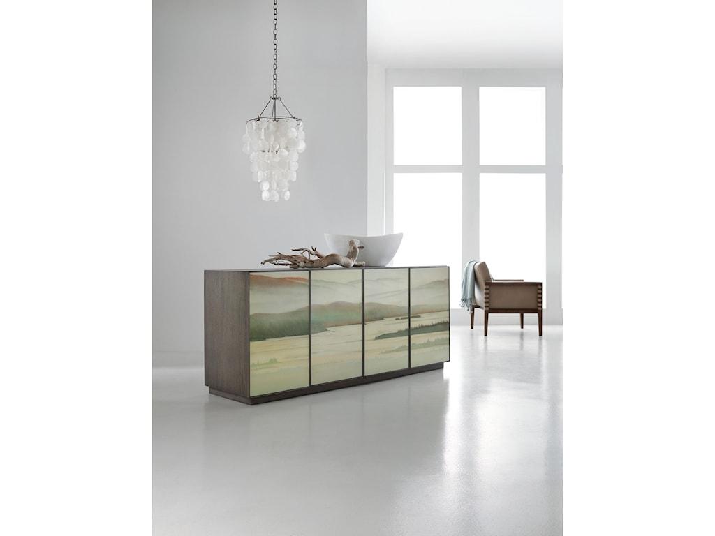 Hooker Furniture MelangeMaya Four-Door Credenza