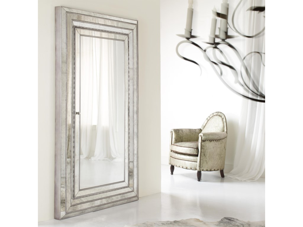 Hooker Furniture MélangeGlamour Floor Mirror