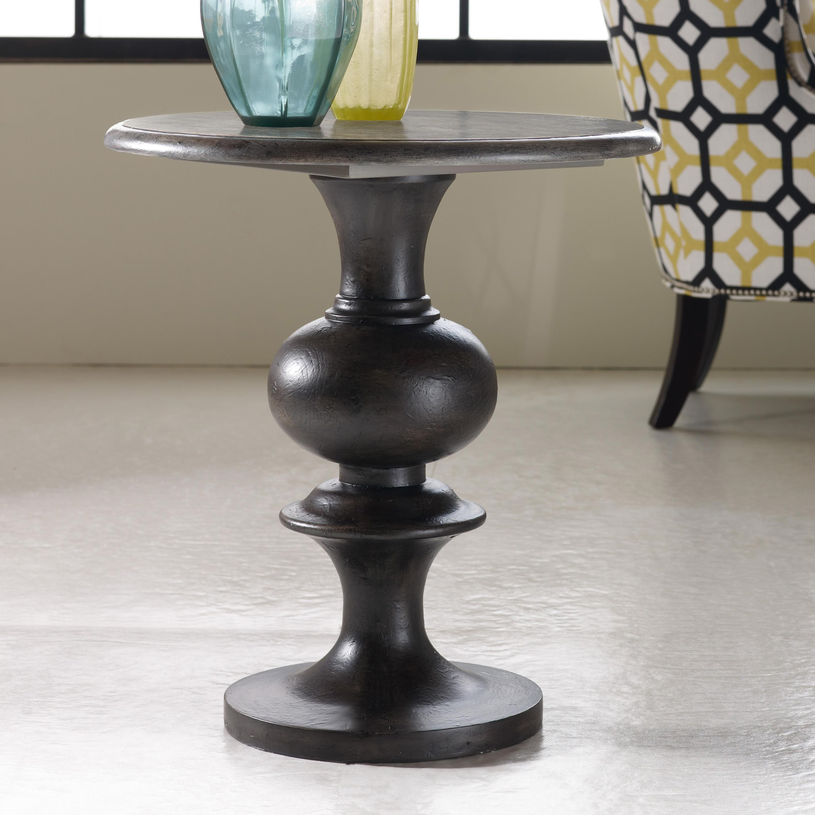 Exceptional Hamilton Home Mélange Hadley Round Top Pedestal Table