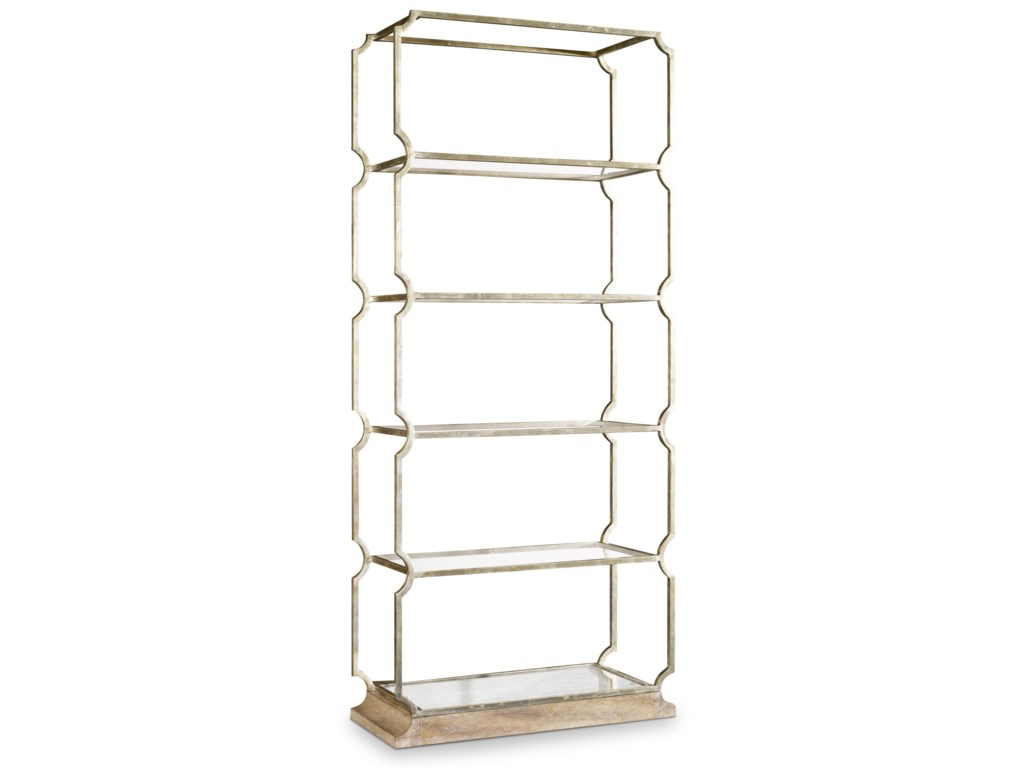 Hooker Furniture MélangeCarter Metal Etagere