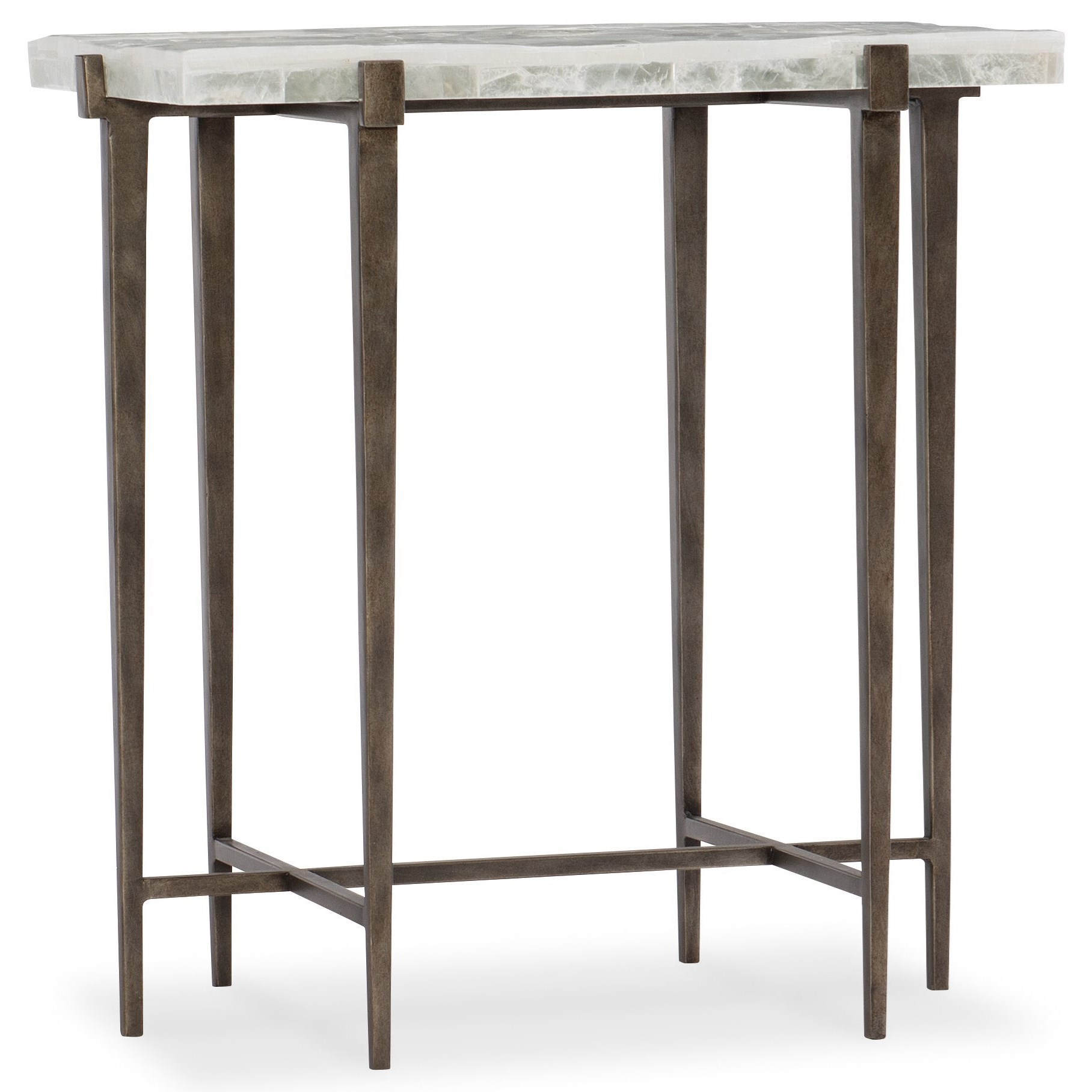 Mélange Bellis Contemporary Accent Table By Hooker Furniture At Baeru0027s  Furniture