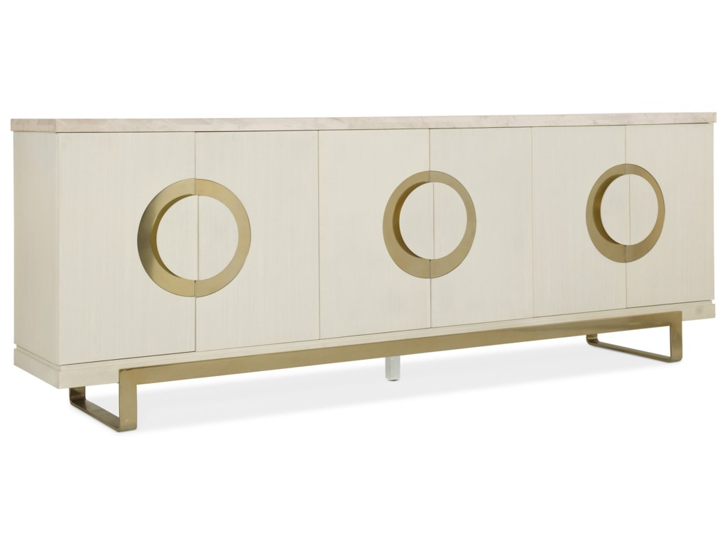 La Credenza Meaning : Hooker furniture melange noelle contemporary credenza howell