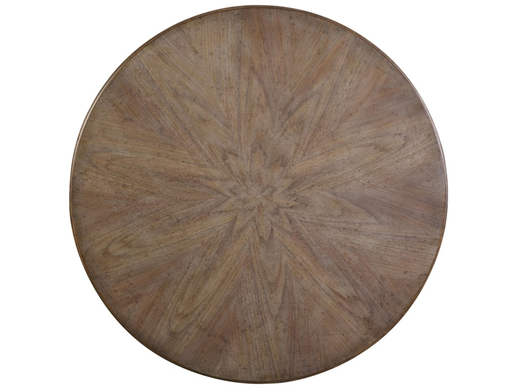 View of Round Table Top