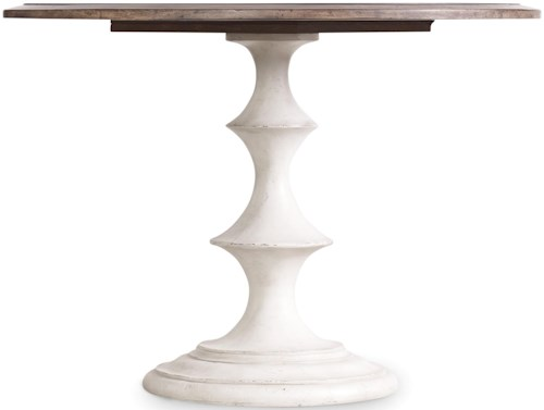 Hooker Furniture Mélange Brynlee Round Pedestal Table