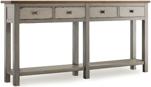 Hooker Furniture Mélange Ramsay Hall 4-Drawer Console