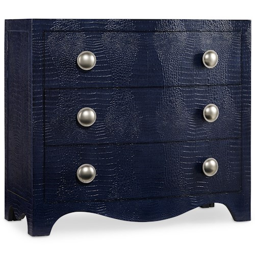 Hooker Furniture Mélange 3 Drawer Blue Nile Chest