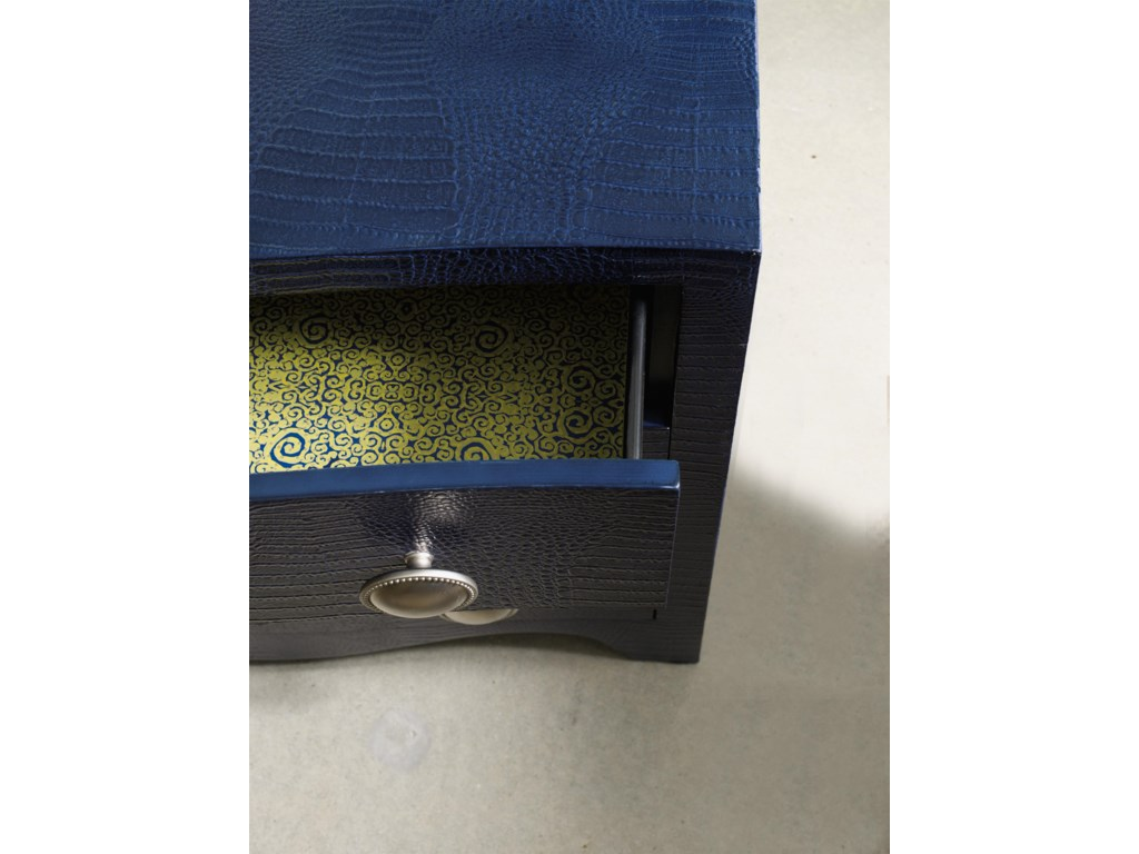 Drawers Feature Wallpapered Interiors