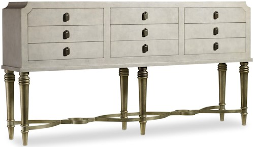 Hooker Furniture Mélange Nadia Console with 6 Drawers